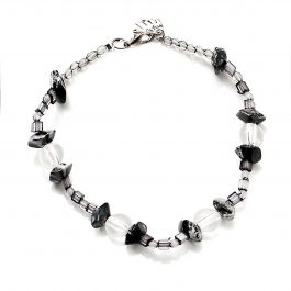 Beaded Anklet Black